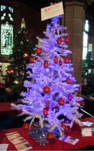Knutsford Hosts joined in with the biennial Christmas Tree Festival at St Cross Church