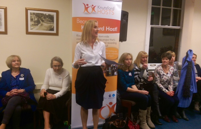 Sarah Flannery updates Hosts, partners and visitors on work carried out over the past few months.